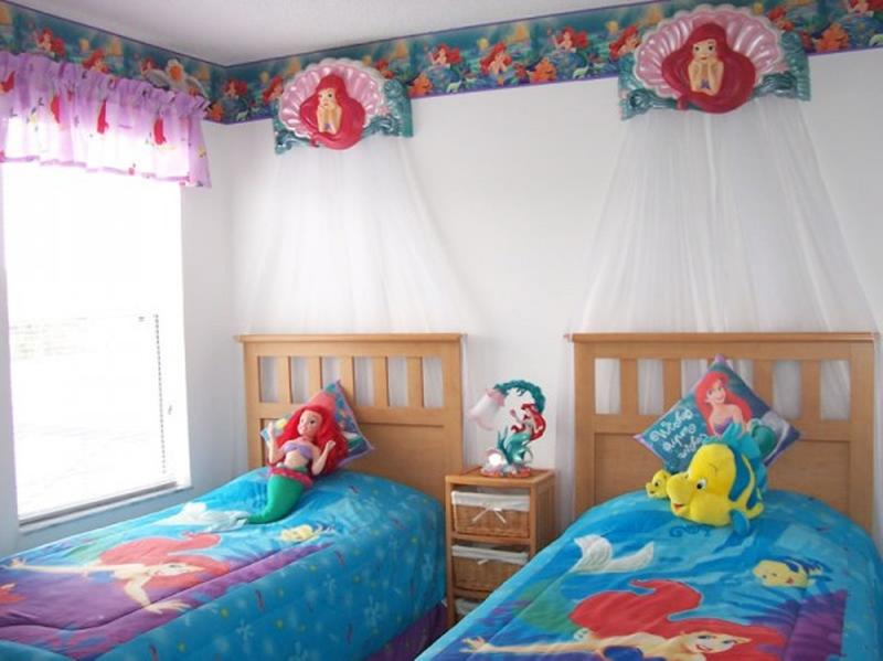 Little Mermaid Themed Bedroom