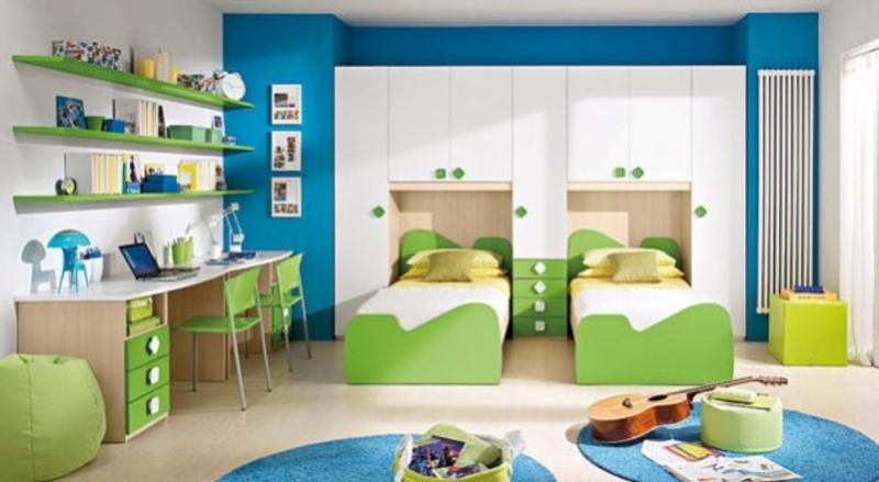 Green Bedroom For Boys 15 cool blue and green boy's bedroom design ideas - rilane