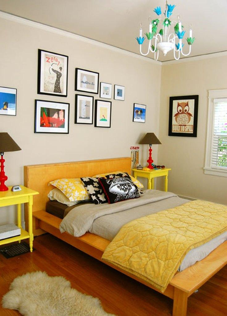 18 Vivid And Chic Mid Century Bedroom Design Ideas Rilane