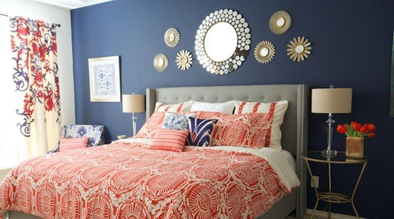 18 Vibrant Navy Blue Bedroom Design Ideas Rilane
