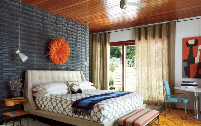 Interior Mid Century Modern Bedroom Ideas 18 vivid and chic mid century bedroom design ideas rilane retro bedroom