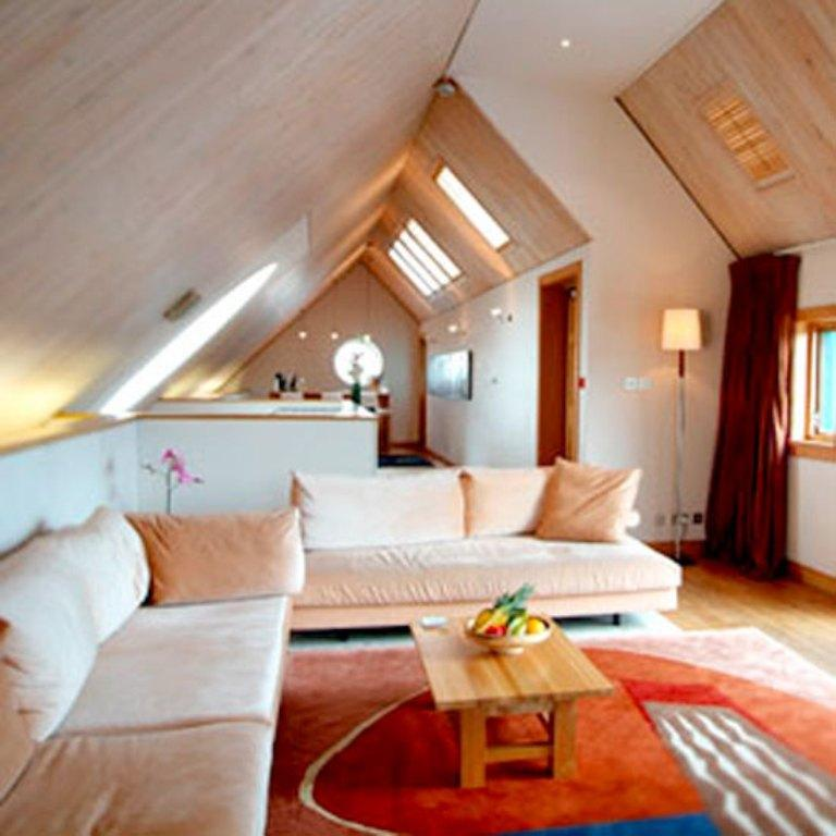 spacious attic living room - Design Ideas For Living Rooms