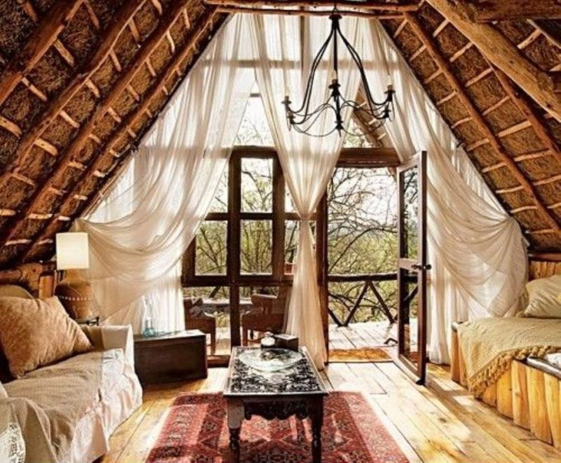 superb living room in home attic design | 20 Beautiful Attic Living Room Design Ideas - Rilane
