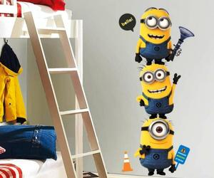 10 Fun Cartoon Character Kids Bedroom Wall Decoration