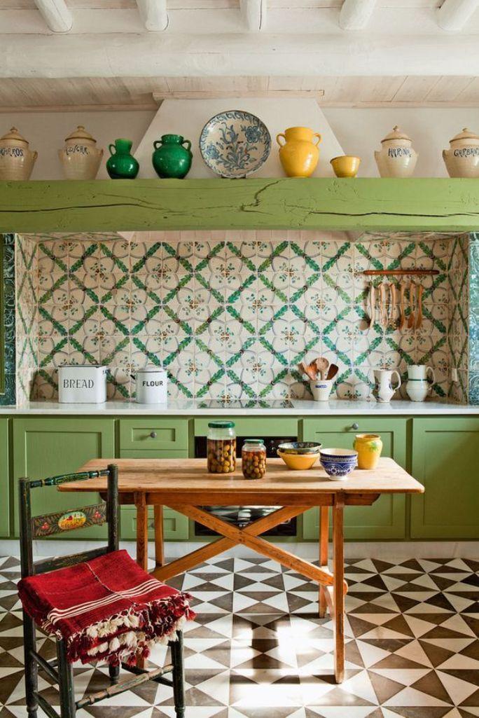 Vintage Eclectic Kitchen