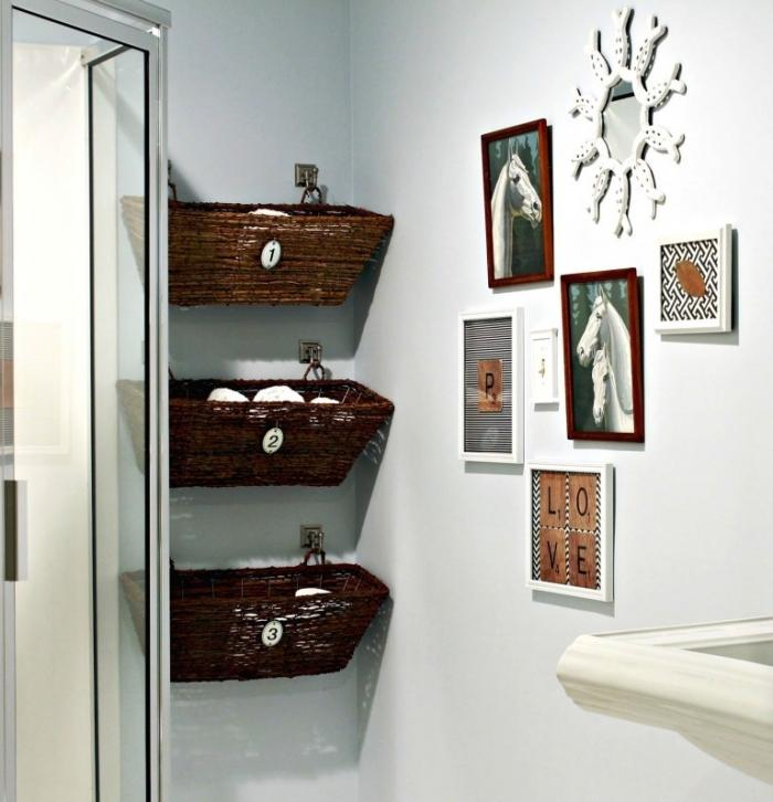 Wall Basket Storage Ideas