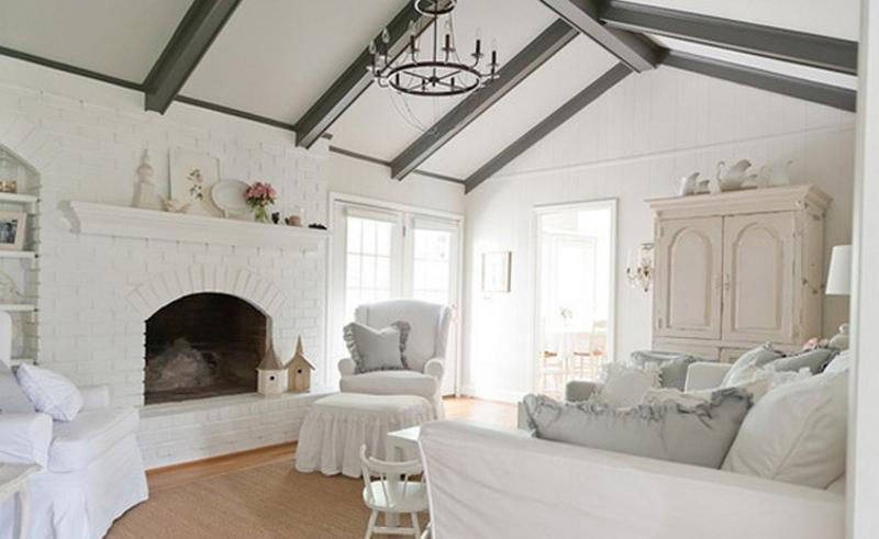 shabby chic living room white shabby chic living room 20 distressed designs to inspire rilane