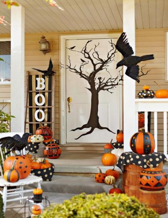 The Coolest Halloween Porches 10 Spooky Ideas To Inspire