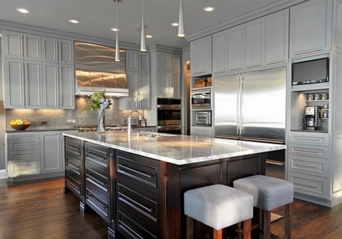 15 Neutral Gray Kitchen Design Ideas To Inspire Rilane