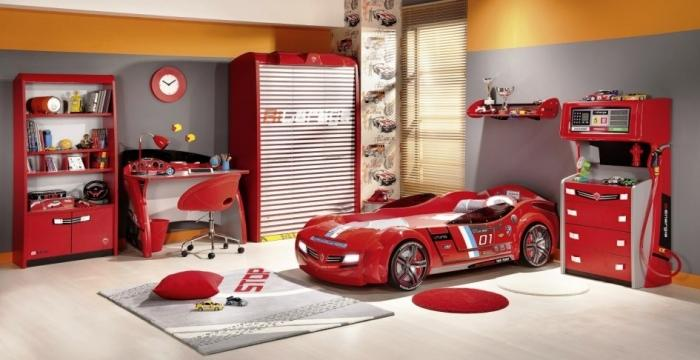 15 Amazing Red And White Kids Bedroom Rilane