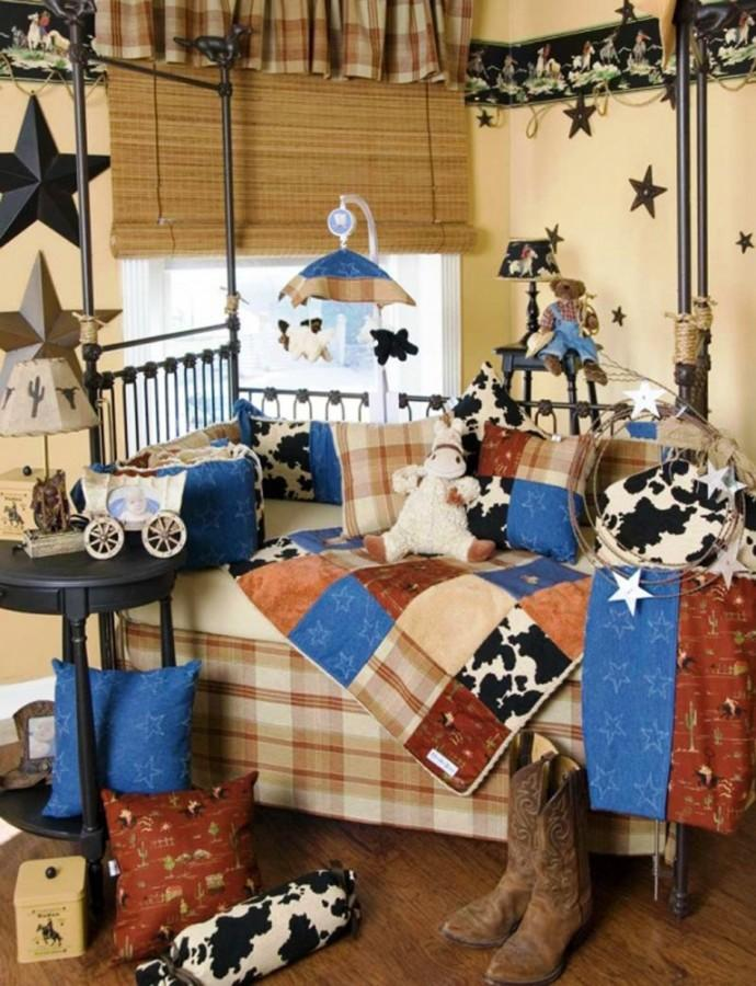 appealing bedroom design | 15 Interesting Cowboy Themed Kids Bedroom - Rilane