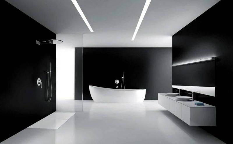 Awesome Minimalist Bathroom Image Source Home Design Lover