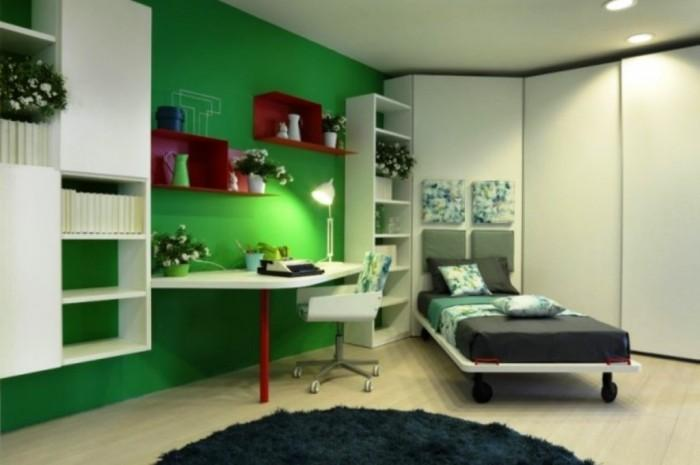15 Cool And Charming Green Kid S Bedroom Rilane