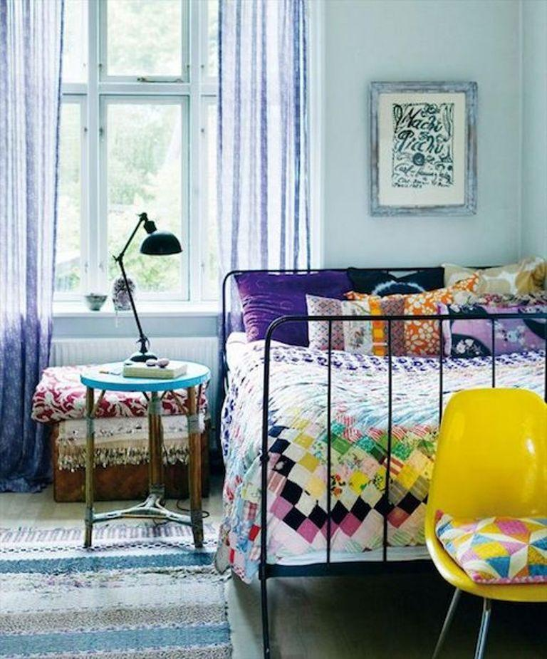 Cheery Boho Chic Bedroom
