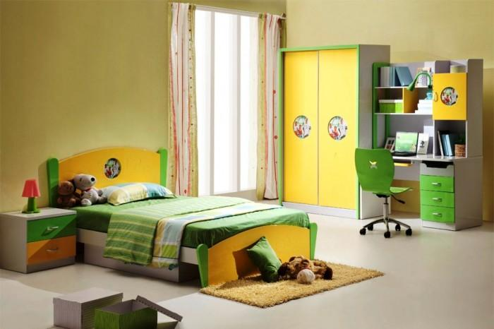 15 cool and charming green kid's bedroom - rilane