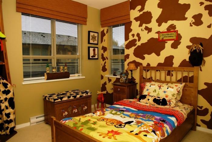 Cool Port Moody Cowboy Bedroom Design
