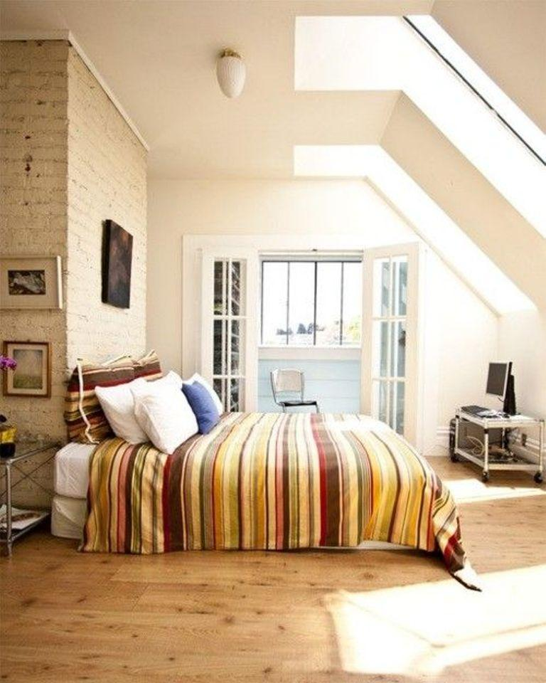 Cozy Bedroom With Skylights Image Source My Ideal Home