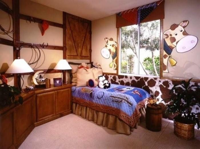 15 interesting cowboy themed kids bedroom rilane for Southern style bedroom