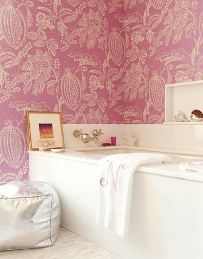 25 Astonishing Pink Bathroom Design Ideas - Rilane