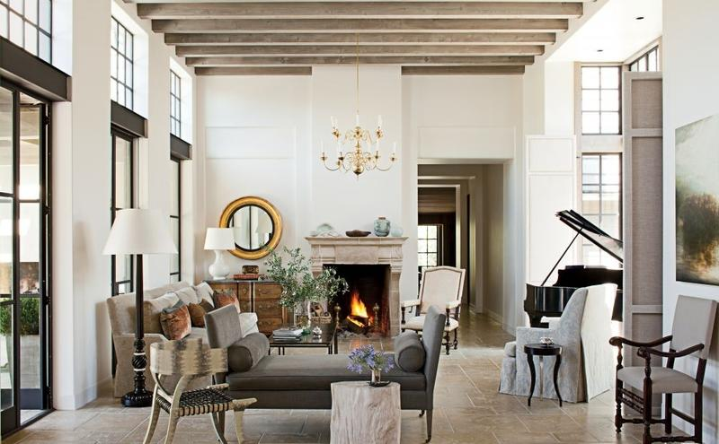 Rustic Home Decorating Ideas Living Room Part - 41: Elegant Rustic Living Room