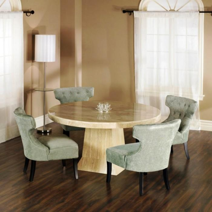 10 Admirable Round Dining Tables For Room