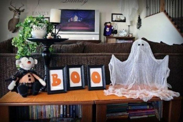 a floating ghost a floating ghost is as great way to go old school and create a retro spooky ambiance in your home