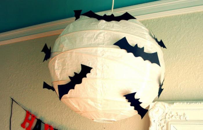 6make something monday bat lantern spooky bat on the lanterns can work for a spooky and interesting ambiance in the interior