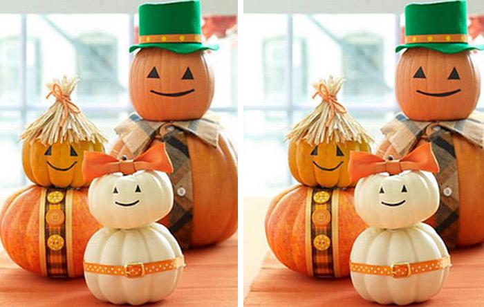 create a cute pumpkin family this is a perfect halloween project that you can make with your family check out the cute pumpkin family tutorial and have - Nice Halloween Decorations