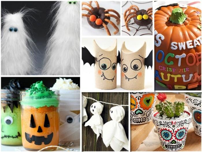 halloween decorations 100 easy to make halloween decor - Halloween Decorations For Kids To Make