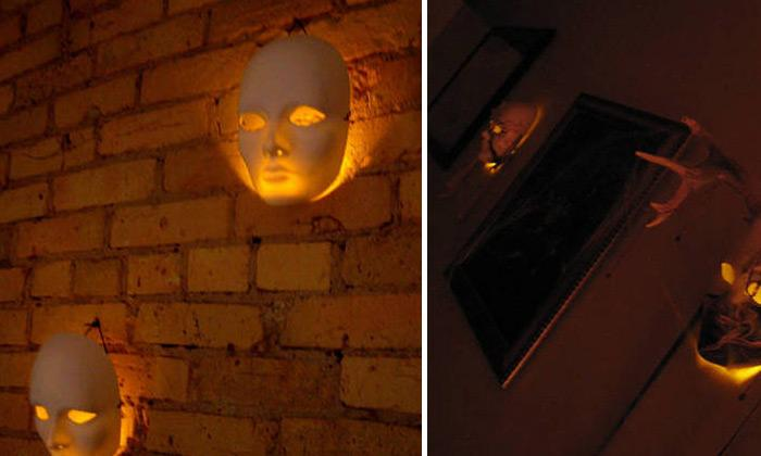 spooktacular halloween wall lightsthese creepy lights will surely bring some spooky ambiance inside your house learn how to do them here