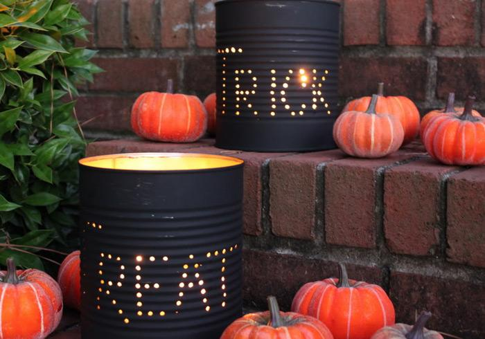 halloween decorations 100 easy to make halloween decor - Homemade Outdoor Halloween Decorations