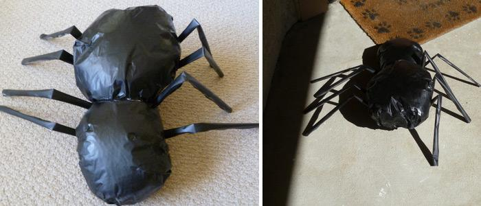 diy aragoggiant spider giant spider definitely looks authentic take a look at the tutorial and do it yourself