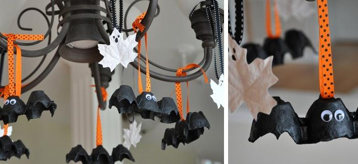 halloween decorations 100 easy to make halloween decor rilane - Halloween Decorations For Kids To Make