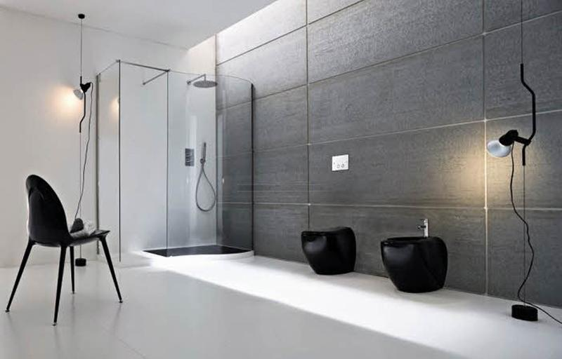 35 contemporary minimalist bathroom designs to leave you for Industrial minimalist design