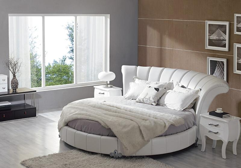 round bed furniture. Italian Round Bed. Image Source:NY Furniture Round Bed Furniture