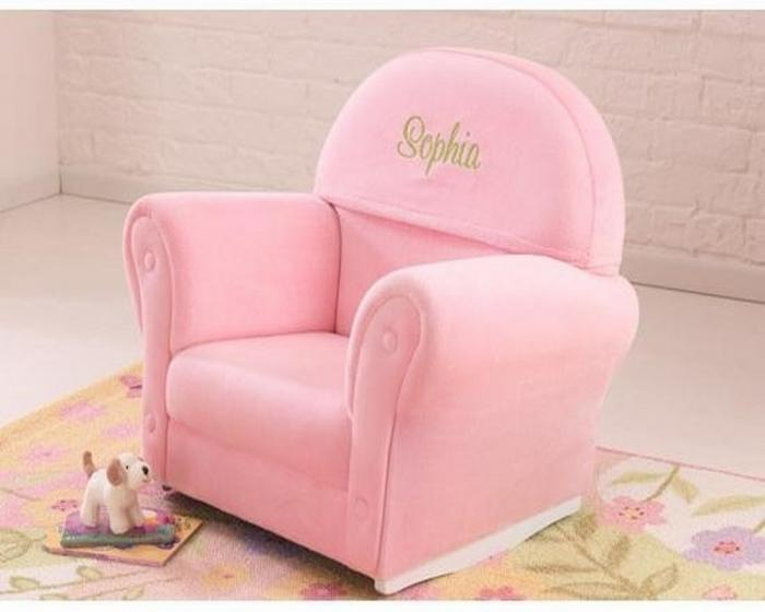 Delightful 10 Super Cute Upholstered Chairs For Little Girls