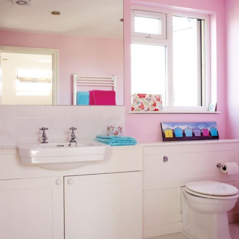25 astonishing pink bathroom design ideas rilane Pink bathroom ideas pictures