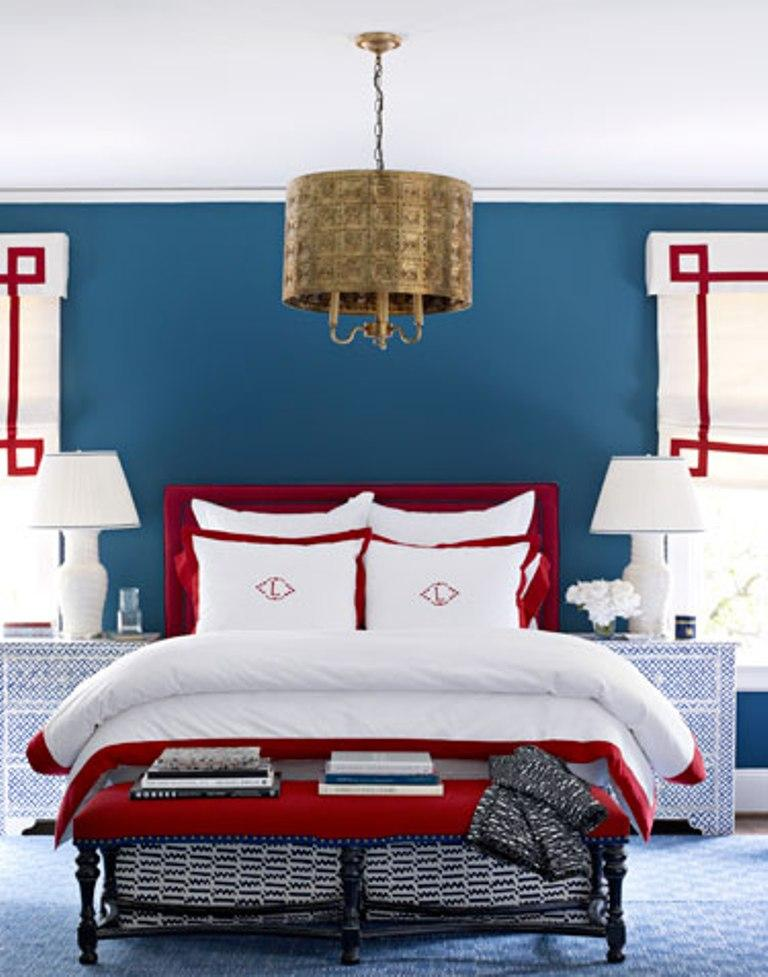 Merveilleux Navy Blue And Red