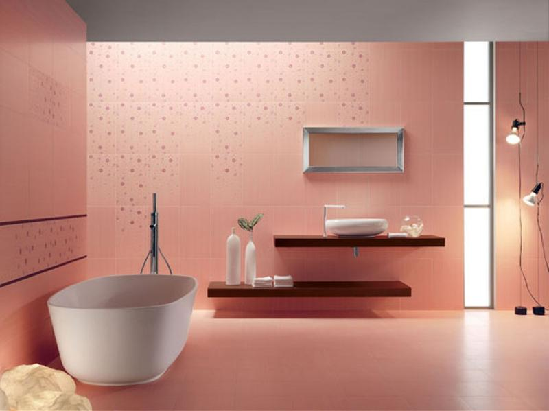 pastel pink bathroom - Pink Bathroom Themes