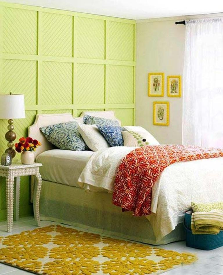 25 Stunning Bedroom Designs With Bold Color Scheme Rilane