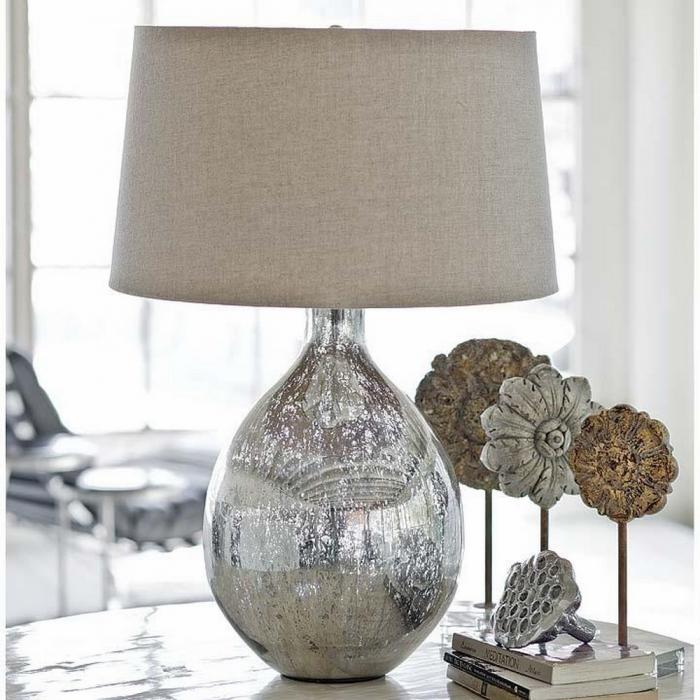 10 Alluring Glass Table Lamps To Embellish Your Living Room Rilane