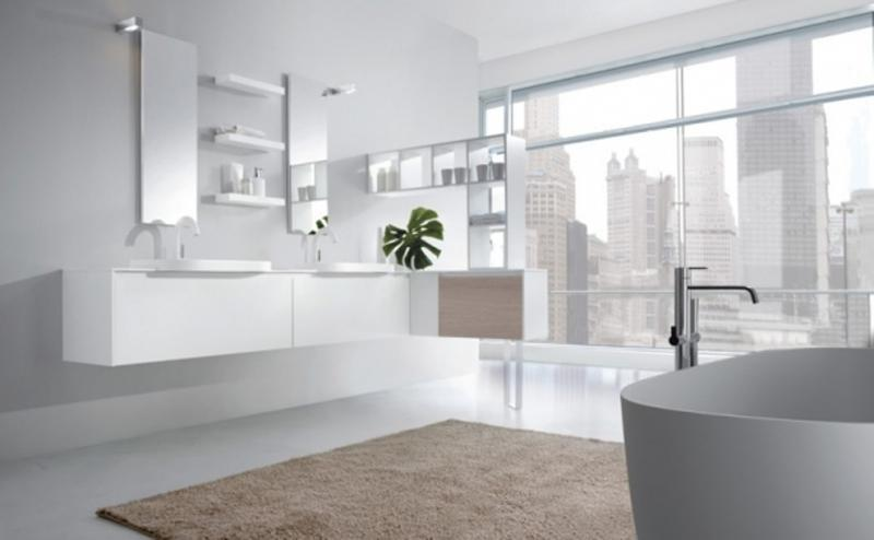 Serene Minimalist Bathroom