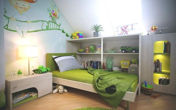 15 Cool And Charming Green Kid S Bedroom
