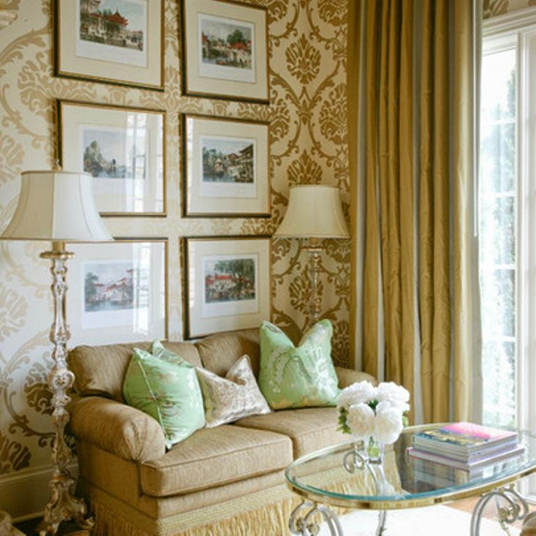 Wallpaper for small living room for Wallpaper for small rooms