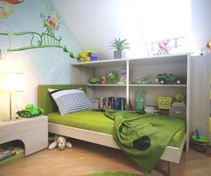 15 Cool and Charming Green Kid's Bedroom