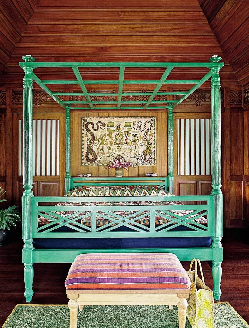 Tropical Boho Chic Bedroom