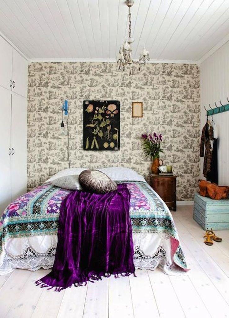 Whimsical Boho Chic Bedroom