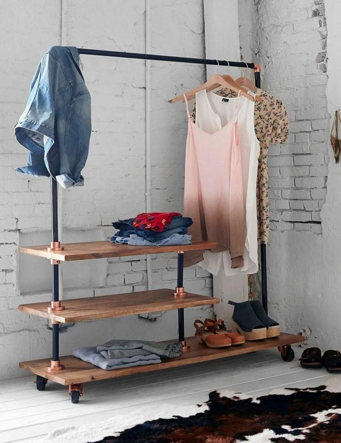 Superb Bedroom Clothes Rack Designs Rilane - Bedroom clothes rack