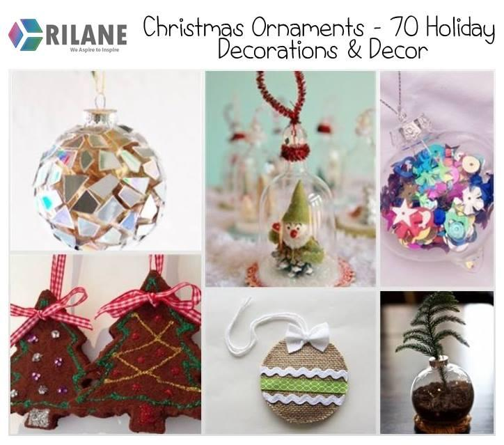 Images Of Holiday Decorations christmas ornaments – 70 holiday decorations & decor - rilane