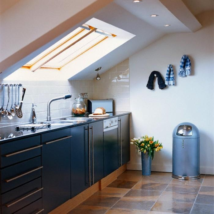 17 captivating attic kitchen designs rilane